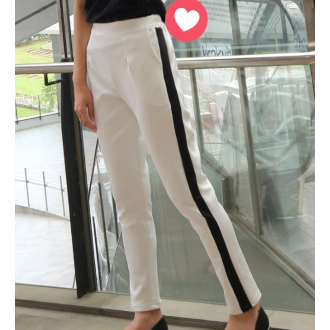 List Pants White