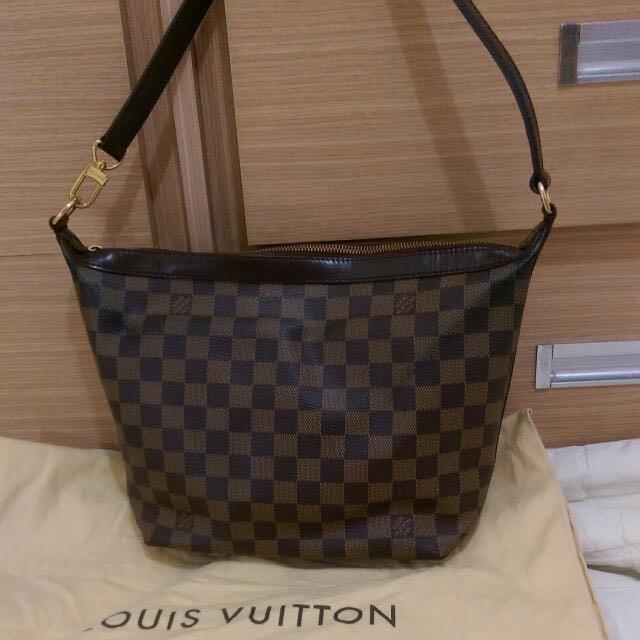 Loves Vuitton 正品棋盤格側背包
