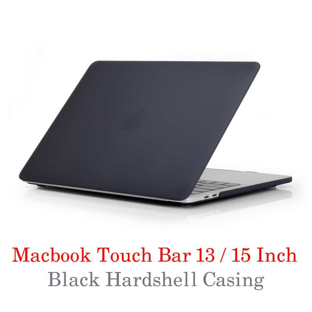 Macbook Touchbar Cover - Matt black!