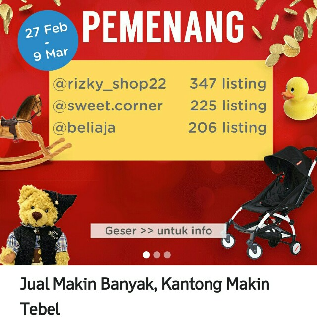 #MakitTebel giveaway thanks carousell_id