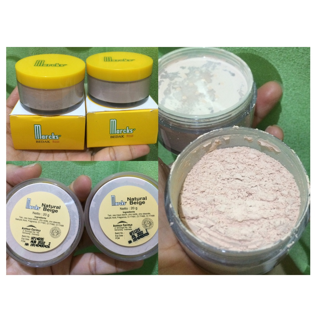marcks loose powder (2 buah)