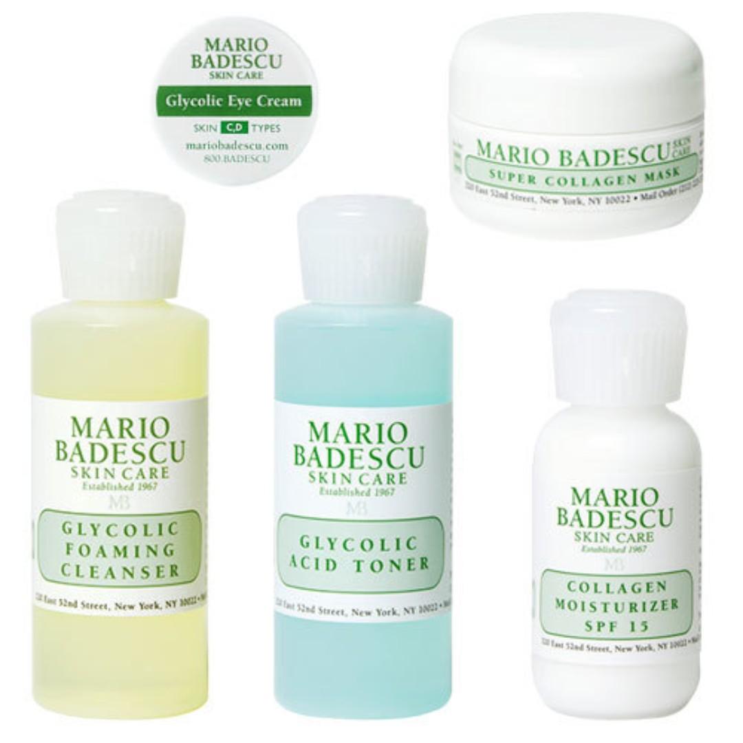Mario Badescu Anti Aging Kit Health Beauty Skin Bath