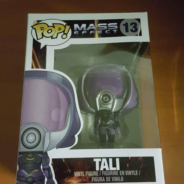 Mass Effect Tali Funko Pop