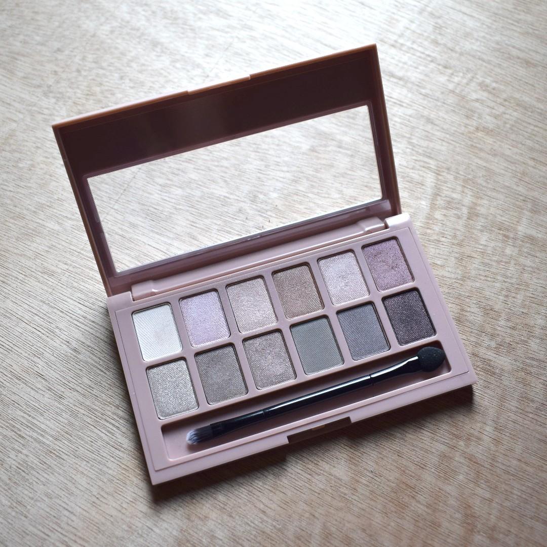 MAYBELINE NY Blushed Nudes Eyeshadow Palette