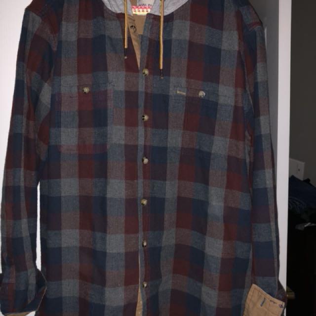 Men's flannel top