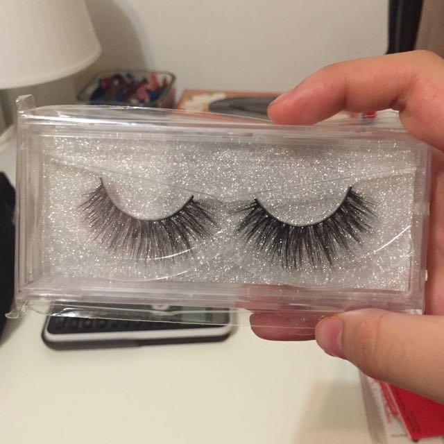 Mink fake eyelashes
