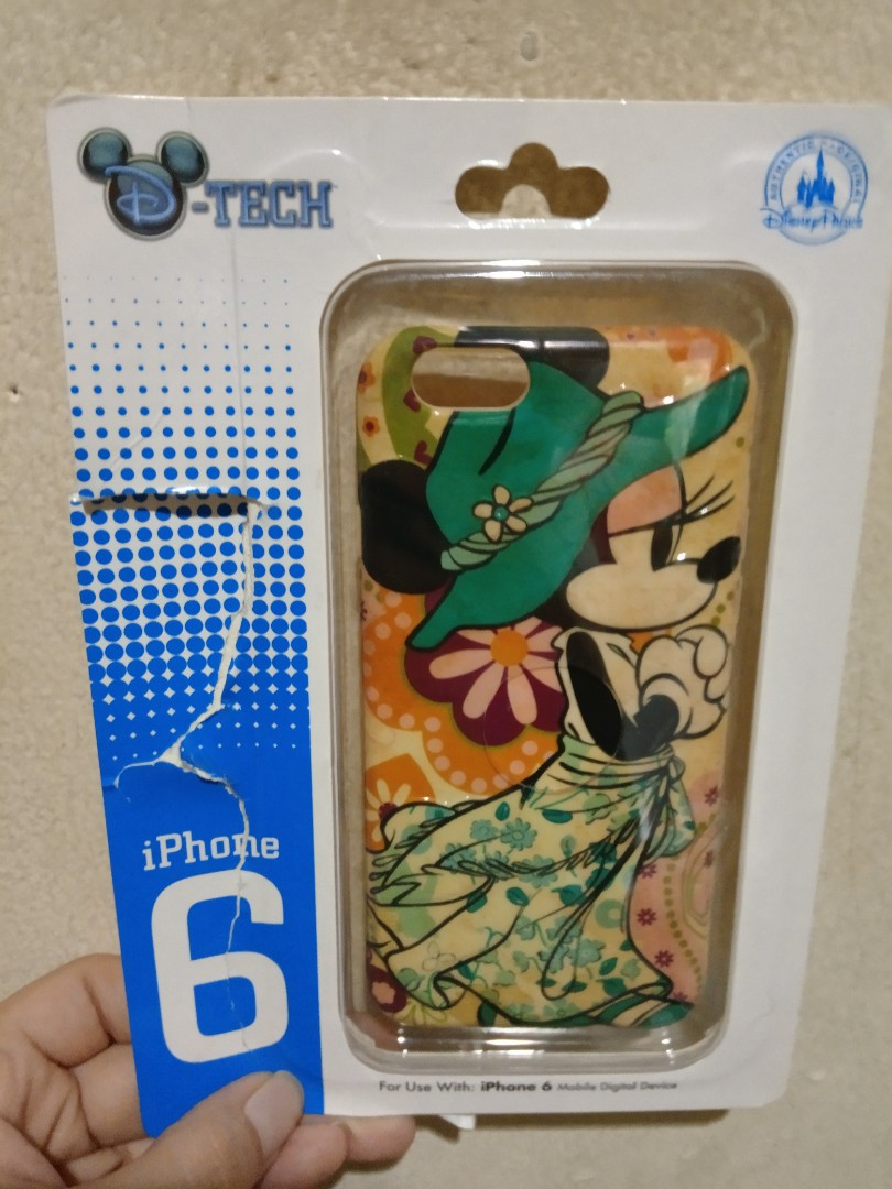 NEW Iphone 6 Case Mickey Disney import