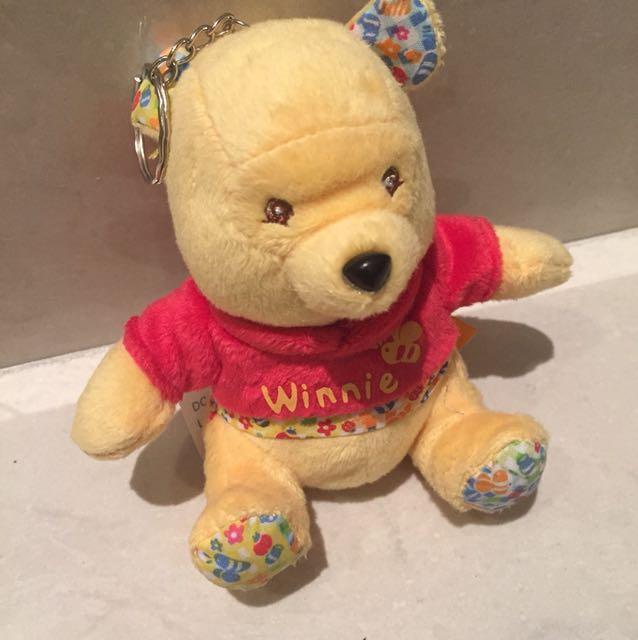 NEW-Gantungan Kunci Winnie The Pooh