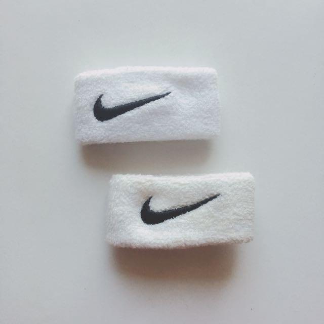 Nike 白色護腕#超取再七折
