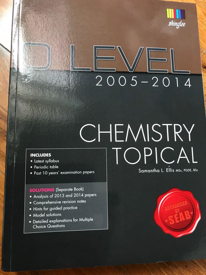 O level chemistry topical by shinglee books stationery textbooks photo photo photo urtaz Images