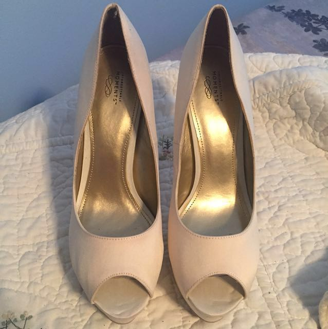 Off-white High Heels Size 10