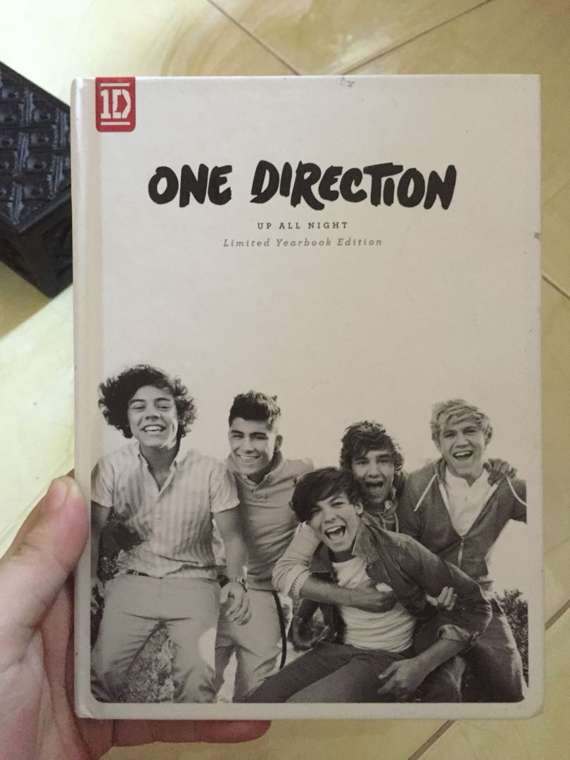 One Direction Up All Night Yearbook Edition