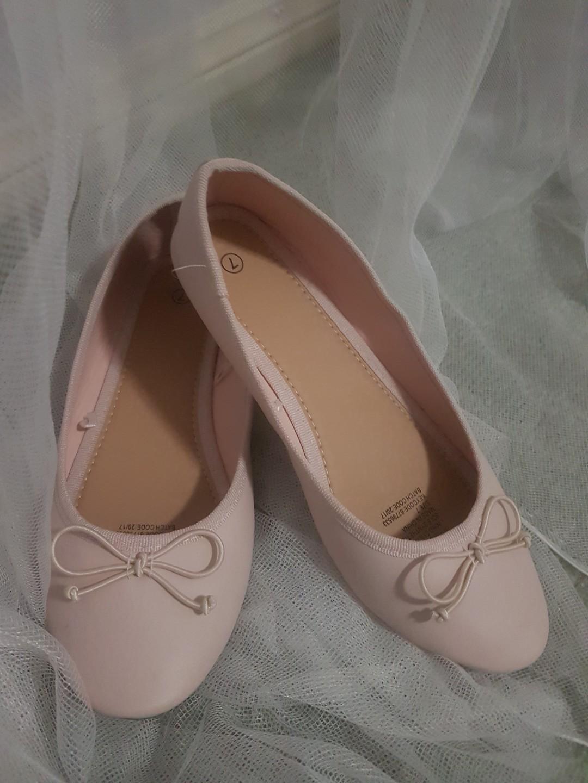 Pale Pink Flats