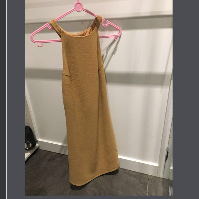 Peppermayo Brown Dress
