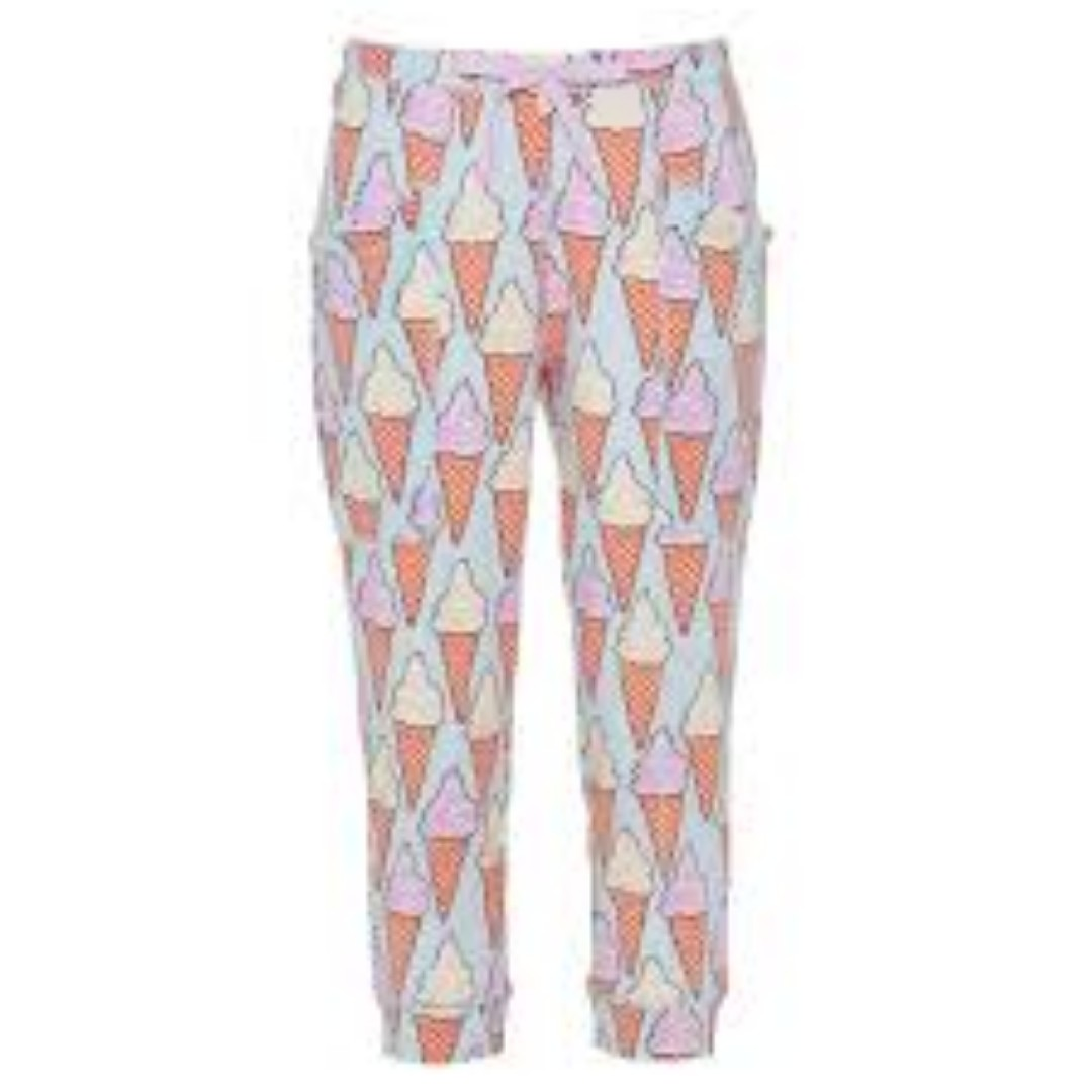 Peter Alexander Ice Cream 3/4 Drop Crotch Pant