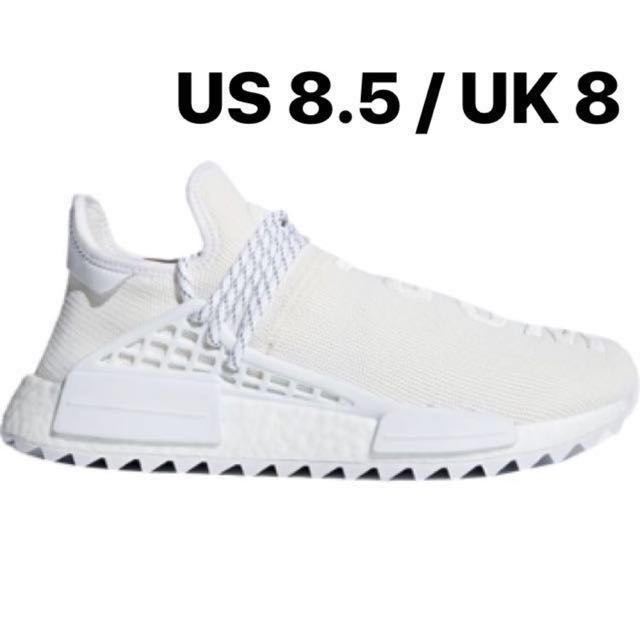 best service 527ba fc8bd Pharrell NMD Hu Holi Trail Blank Canvas US 8.5