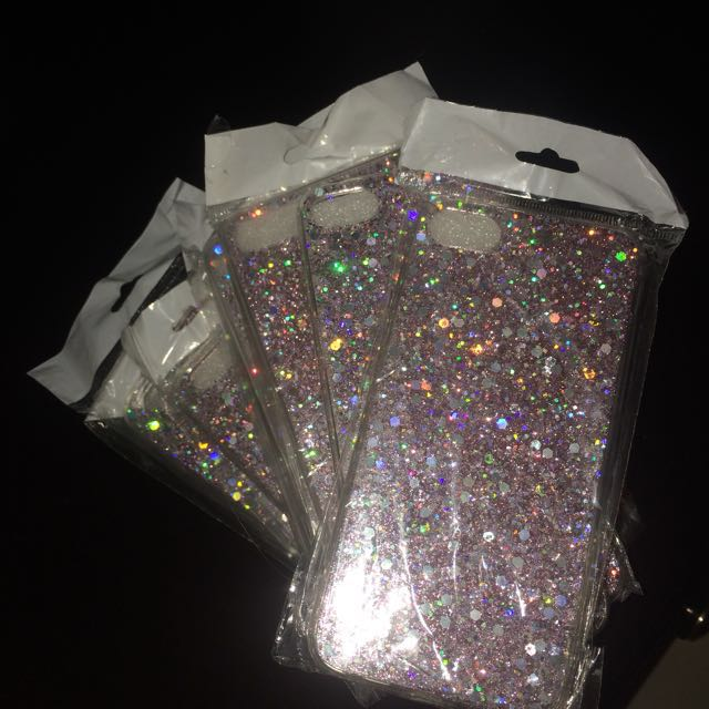 Pink Glittery iPhone Cases 🎀