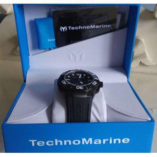 [Price Reduced] Technomarine Men's Black Reef Watch