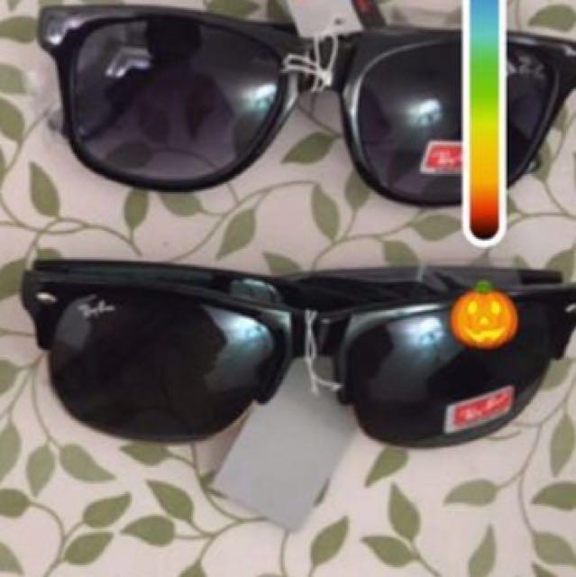 Rayban glasses ($50 each)