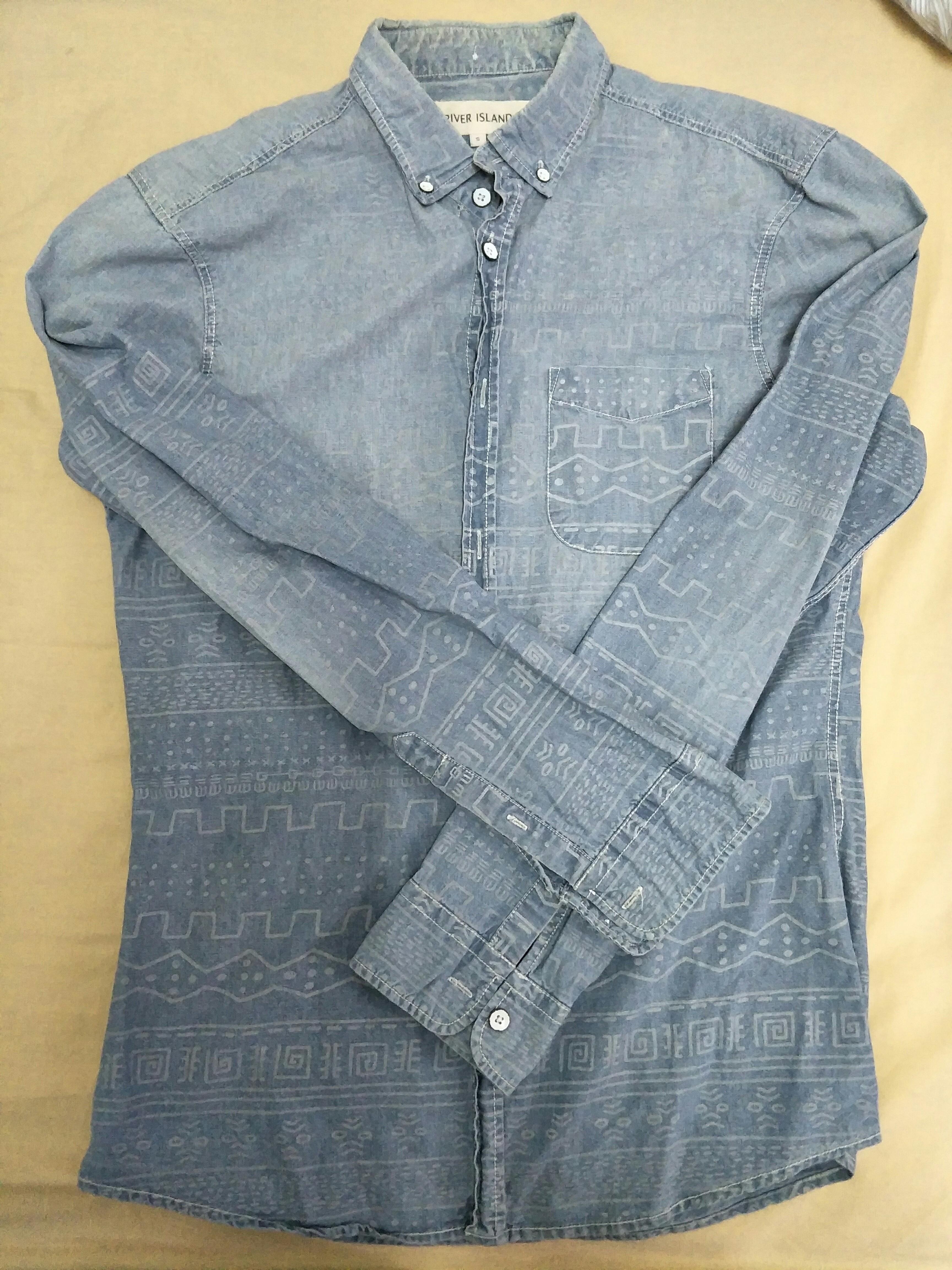 River island jeans shirt