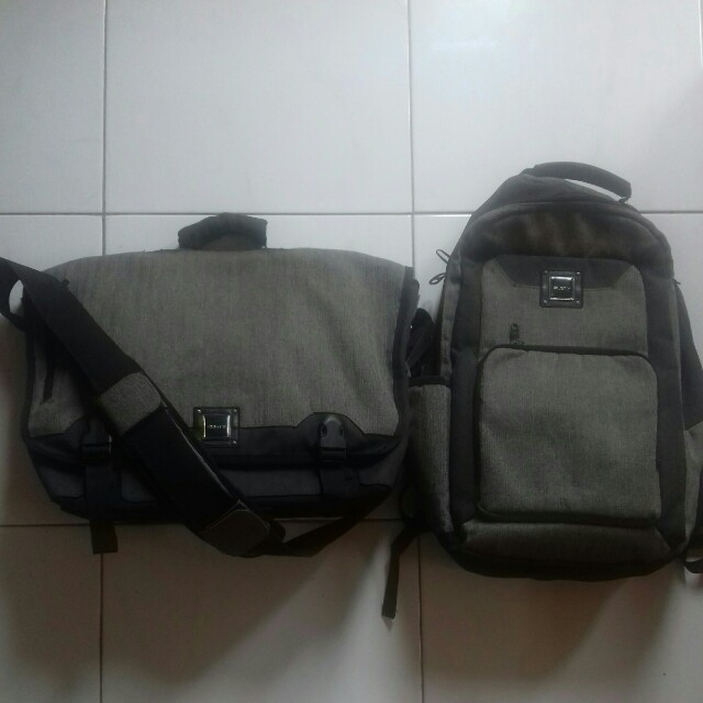 RUSTY authentic. Backpack & Slingbag.