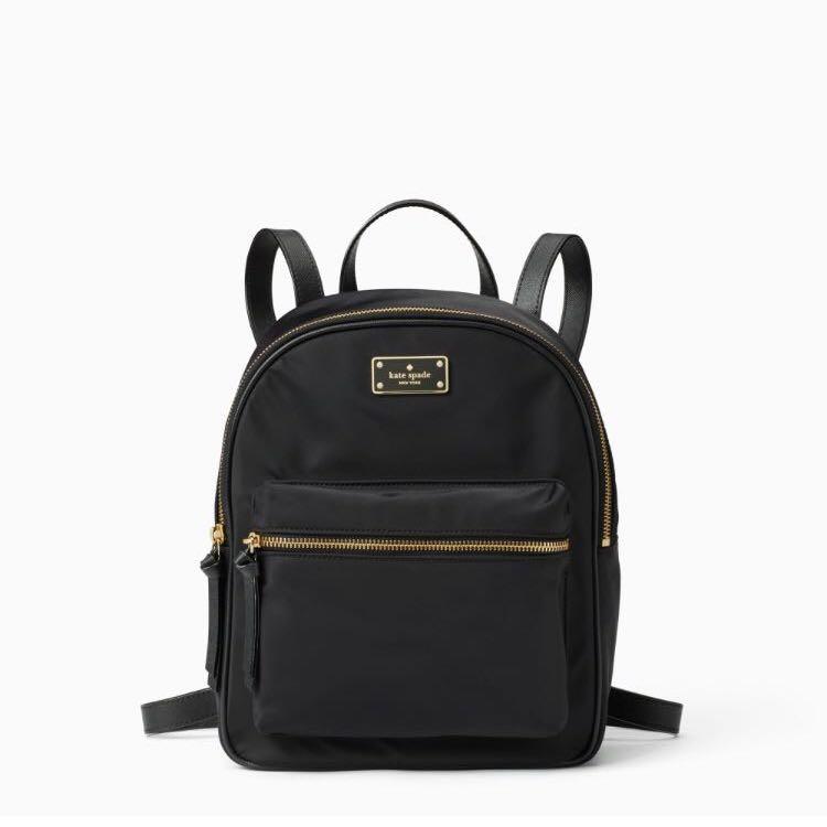 854c079374ab SALE Kate Spade Wilson Road Small Bradley Nylon Backpack Black ...