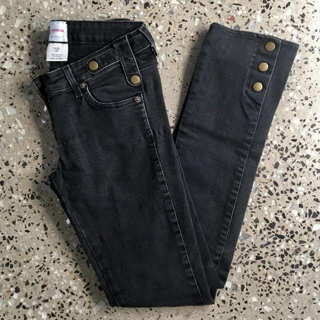 Sass & Bide Low Rise Denim Jeans