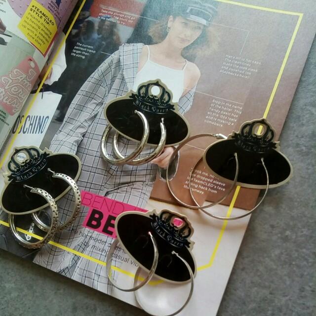 Set of Round Earrings #20under