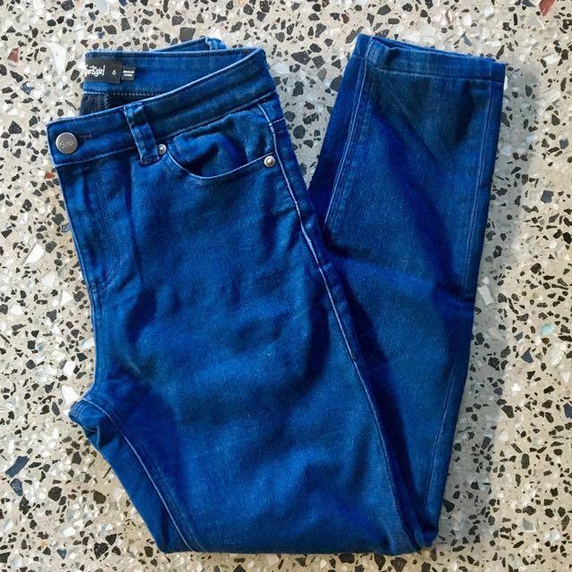 Sportsgirl High Rise Skinny Denim Jeans