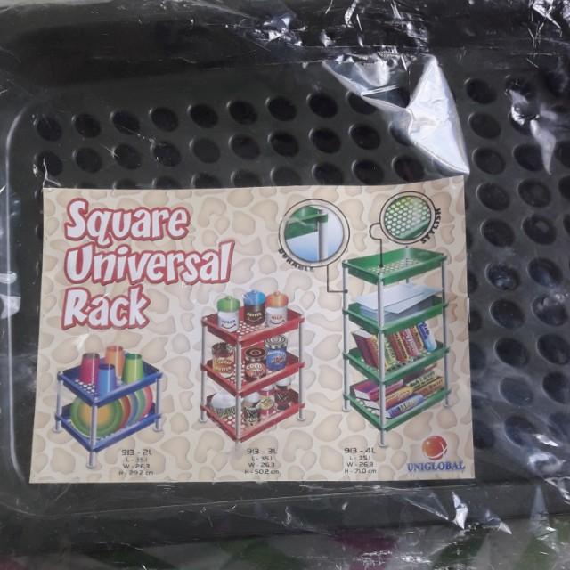 Square universal rack