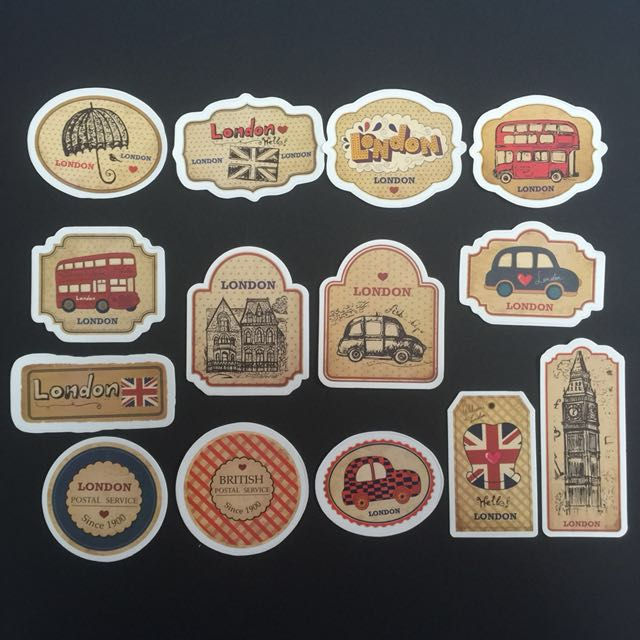 Sticker Waterproof High Quality - Travel theme Stickers