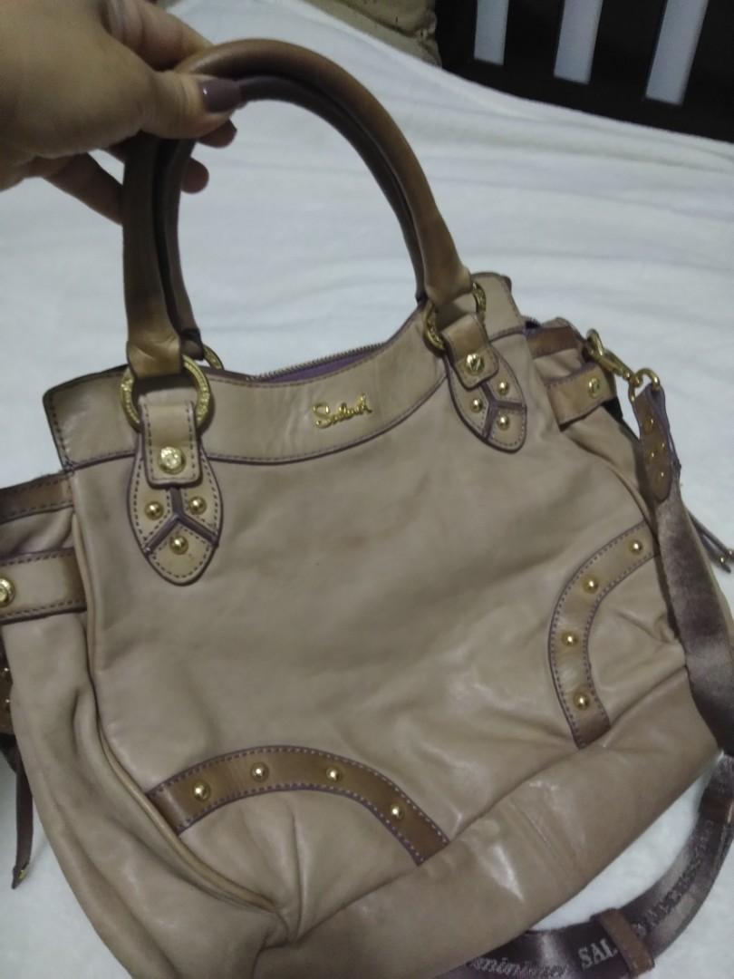 🚩🚩🚩Authentic Salad Leather Bag