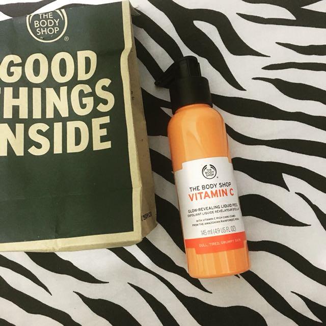 The body shop vitamin c liquid peel