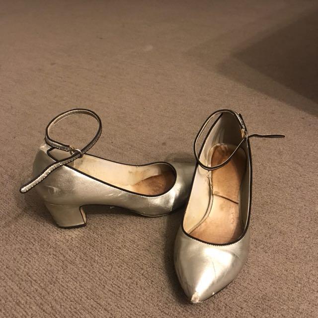 Topshop genuine leather heels size 37