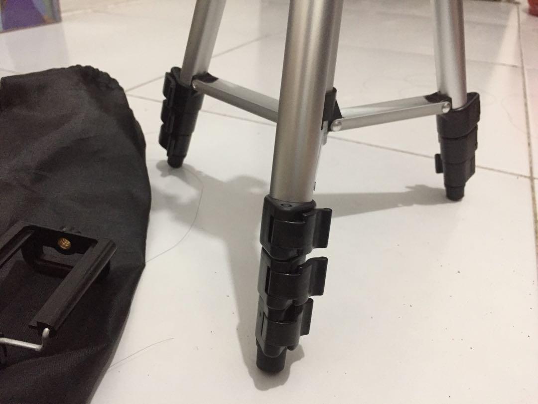 Tripod  camera dan hp