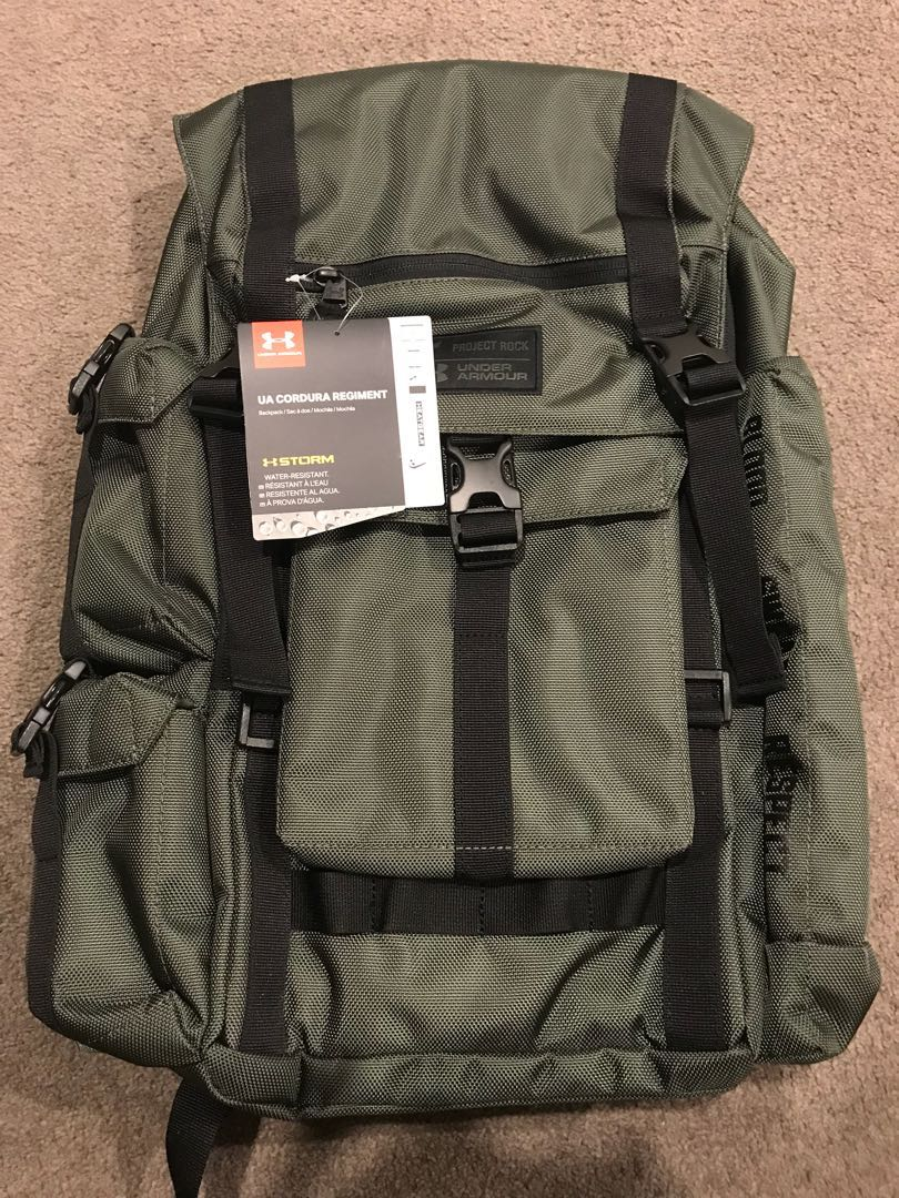 c421b8deac Underarmour Project Rock Cordura Backpack