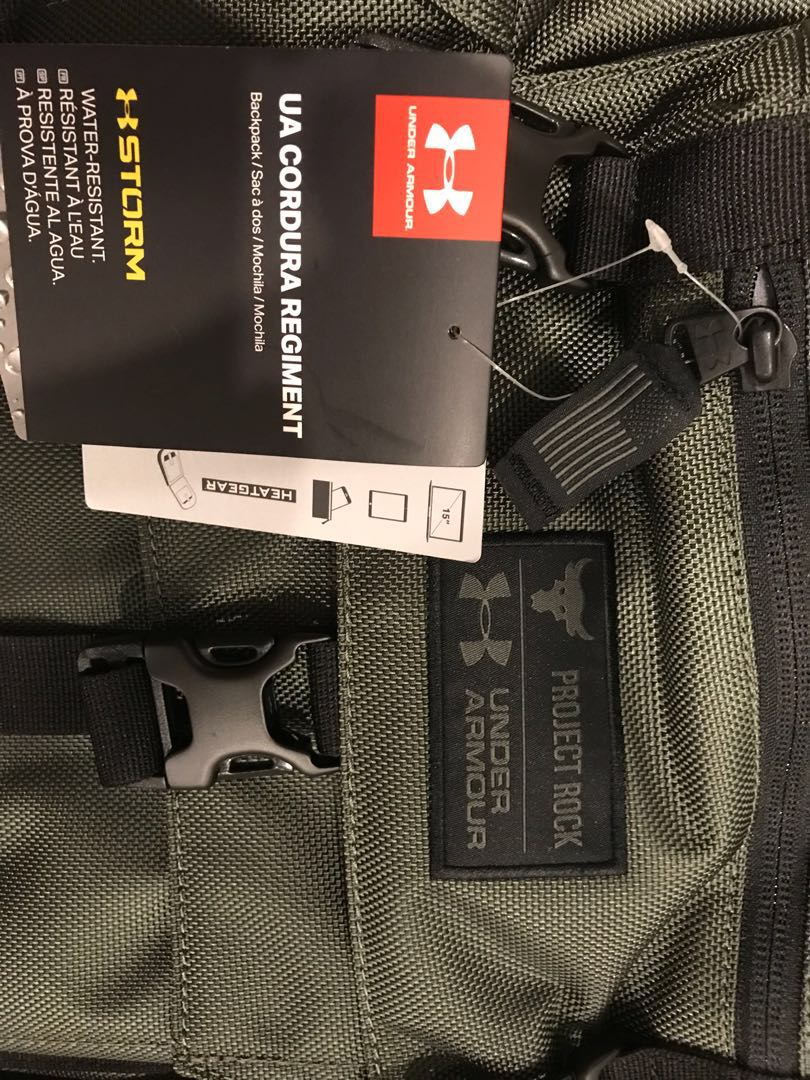 73fdd801a9 Underarmour Project Rock Cordura Backpack