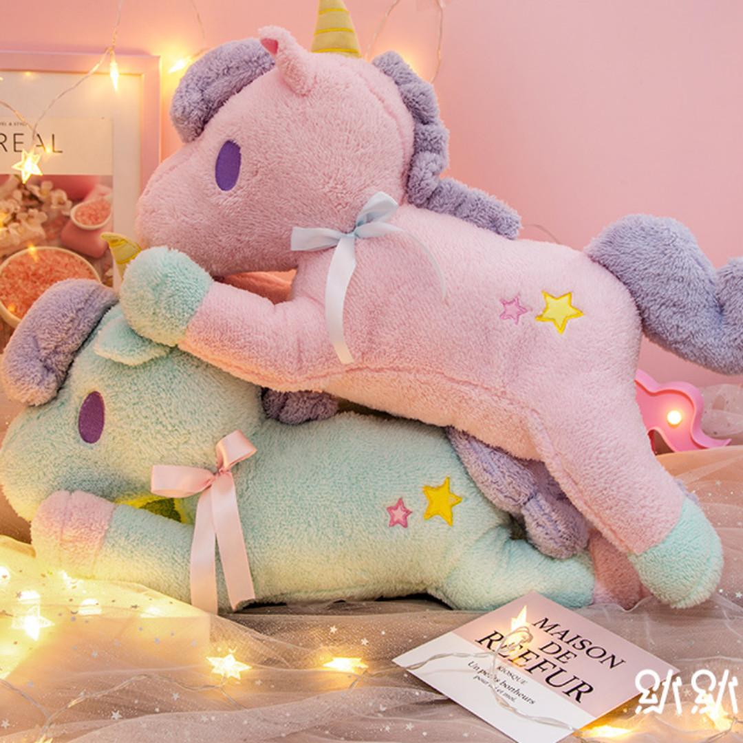 Unicorn Plushie Big Size 55cm 3fa34fd5a