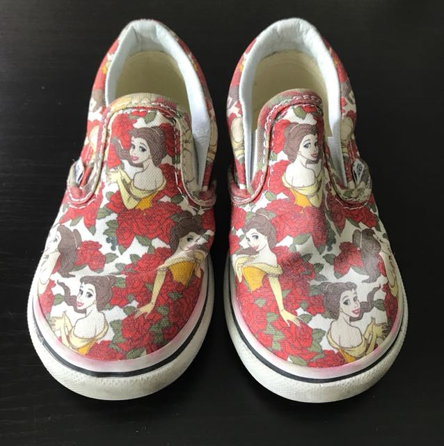 f568e52c05 Vans Belle Beauty   The Beast Shoes 3 years old
