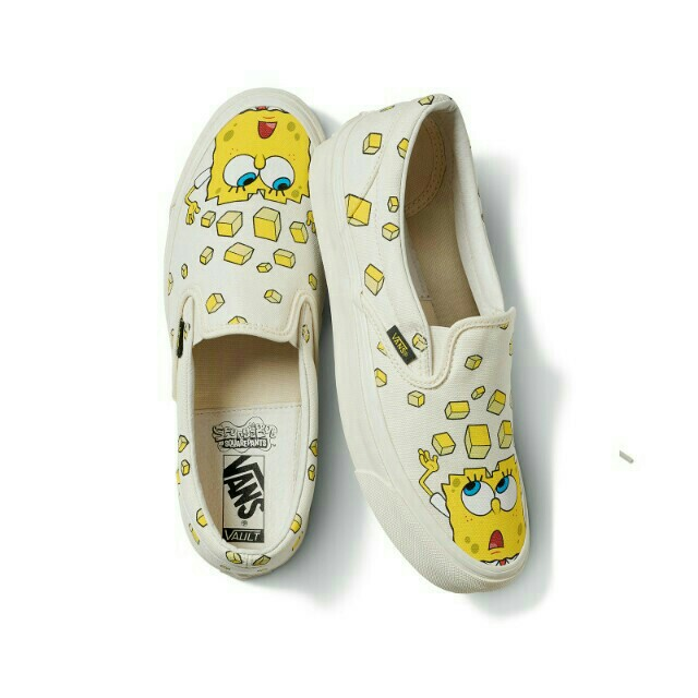 Vans x Spongebob Slip-On, Men's Fashion