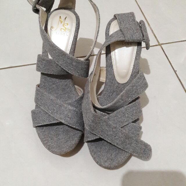 Wedges Grey Tali