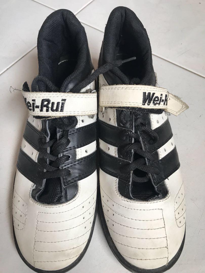 28f4659b2da4 Wei-Rui weightlifting powerlifting shoe (US 8.5)