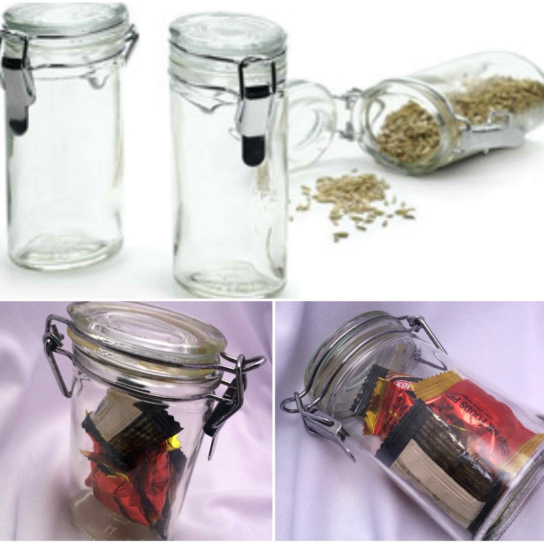 Wire Bale Specialty Glass Jars (Clamp Type), Home
