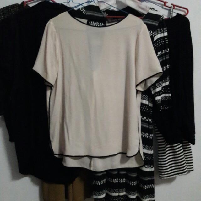 Zara plain top