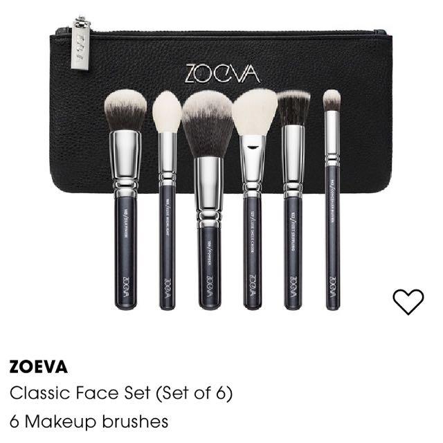 Zoeva brush set