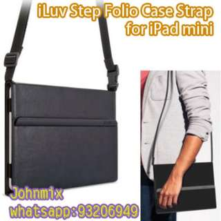 iLuv Step Folio Case Strap for iPad mini 1, 2, 3, 4