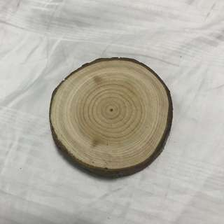 Mini Rustic Wooden Slice