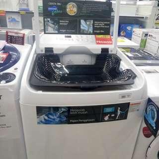 Mesin cuci dan elektronik lainnya bisa di cicil proses 3 menit