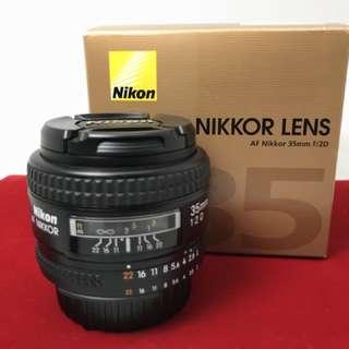 Nikon 35mm F2 D