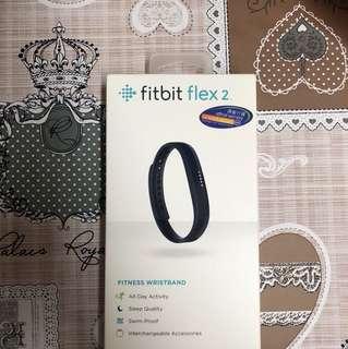 全新Fitbit Flex 2 黑色